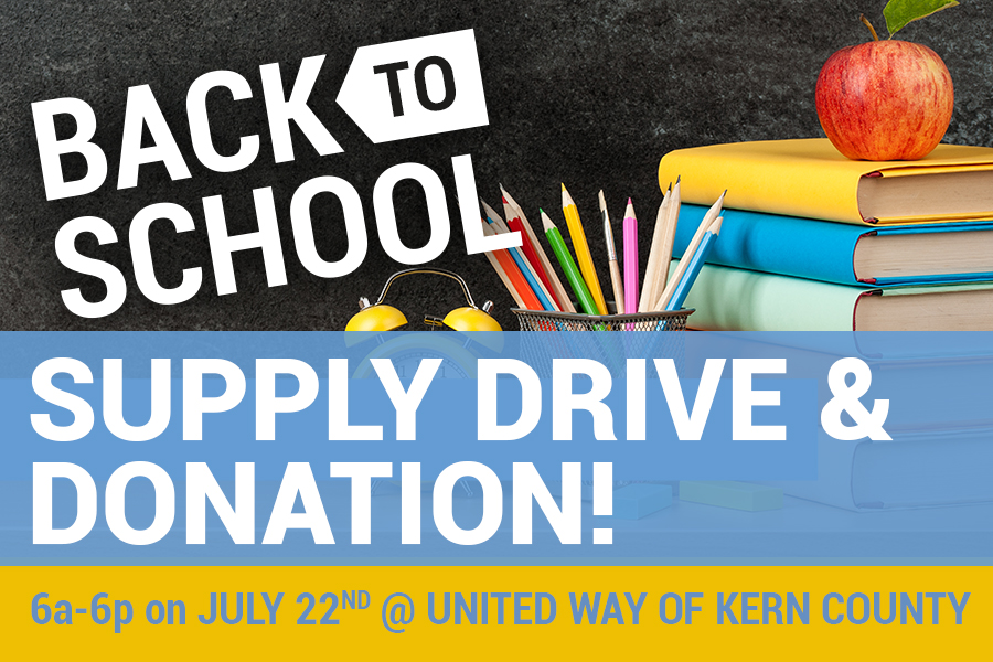 United Way of Kern County, The Blessing Corner to host Back to School drive