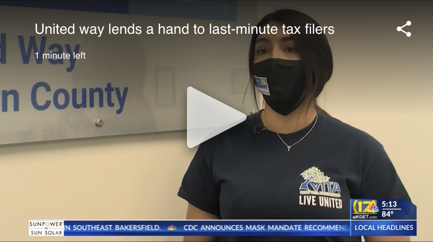 United Way lends a hand to last-minute tax filers